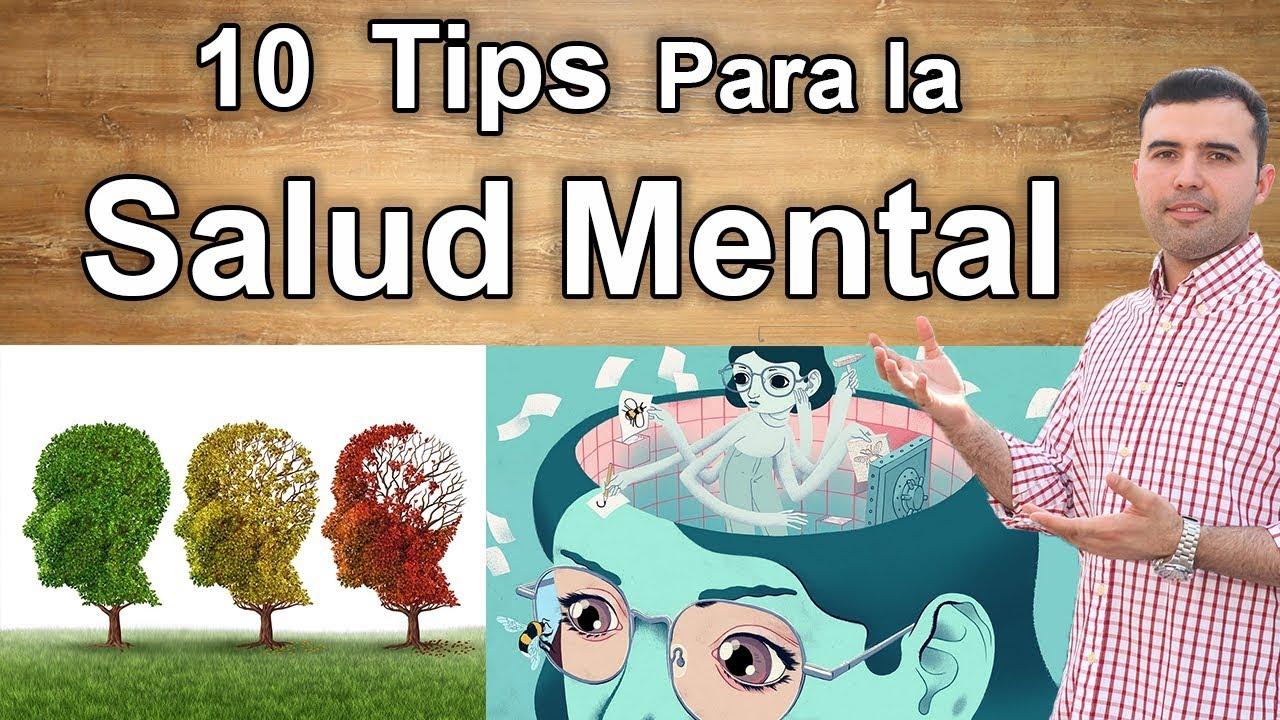 recomendaciones para la buena salud mental