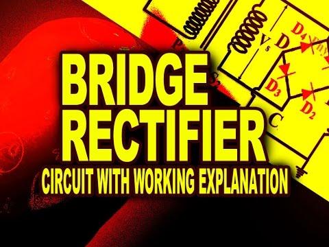 bridge rectifier how does a bridge rectifier functions circuit bridge rectifier how does a bridge rectifier functions circuit diagram explanation