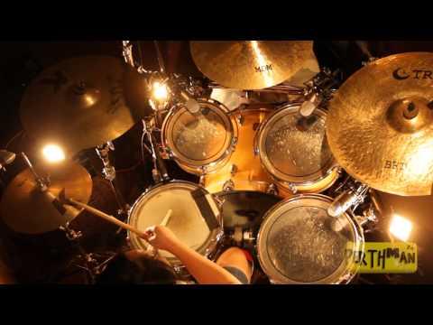 [LOUDER DRUMS] Karmi Santiago - A Christmas Rock Medley (Richard Campbell Drum Cover)