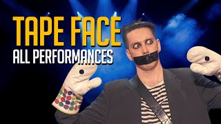 Tape Face All Performances On America's Got Talent and Champions!