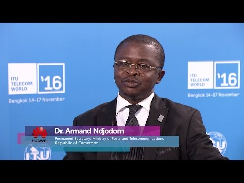 Dr.Armand Ndjodom: Cameroon's NBN Initiative and Industrial Cooperation