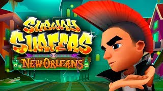 SUBWAY SURFERS GAMEPLAY HD 🎃 NEW ORLEANS - HALOWEEN 2018  ✔ SPIKE AND 25 MYSTERY BOXES OPENING