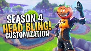 *NEW* SEASON 4 CUSTOMIZABLE SKIN AND HEAD BLING FEATURE WISHLIST - Fortnite: Battle Royale