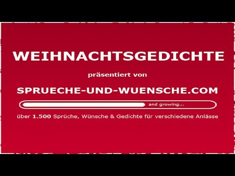 weihnachtsgedichte youtube. Black Bedroom Furniture Sets. Home Design Ideas