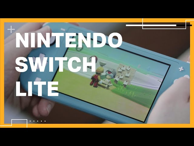 First look at the Nintendo Switch Lite