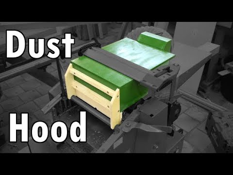 Making a Dust Collection Hood for my Jointer/ Planer Combo