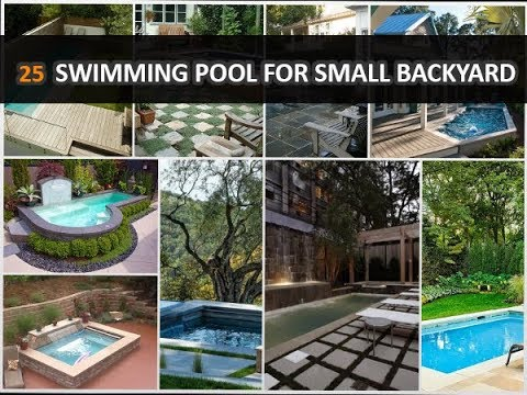 25 Amazing Swimming Pool Ideas For Small Backyard Deconatic Youtube