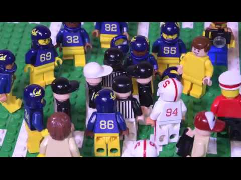 "The Play"" Recreated in LEGO for 35th anniversary of famed Cal ..."