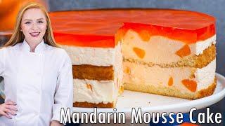 Mandarin Mousse Cake