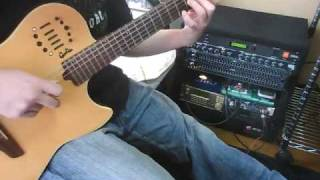 serial experiments lain Duvet on guitar