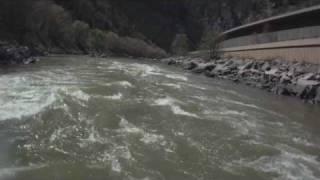 Colorado River Rafting: Shoshone Rapids (Abridged Goldberg Version)