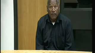 O.J. Simpson Pleads for Shorter Sentence During Hearing