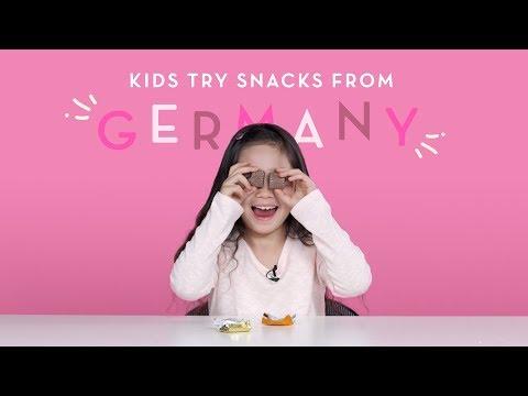 Kids Try Snacks from Germany   Kids Try   HiHo Kids