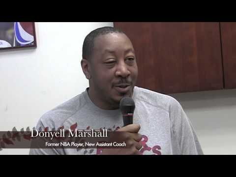 Donyell Marshall Becomes New Assistant Coach at Rider University (Short Version)