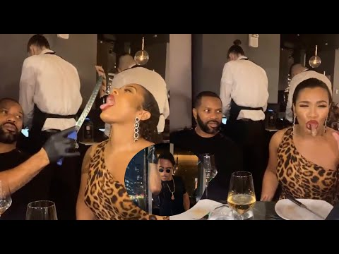 Salt Bae FEEDS Woman INFRONT Of Her Boyfriend While At His Restaurant.