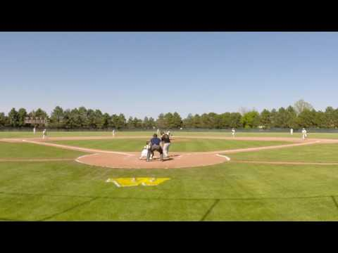 Connor Sonnier defensive gems vs Davison May 19th 2016 no hitter