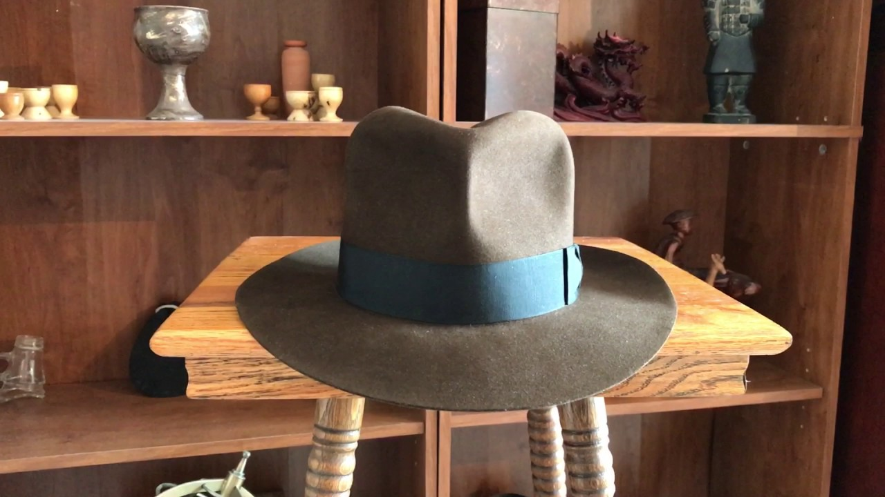 c300b85bee2dc Indiana Jones Hat  Raiders of the Lost Ark 100x Beaver Fedora By The Northwest  Hat Co.