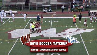 Wayne Valley vs Wayne Hills boys Soccer 9/14/21