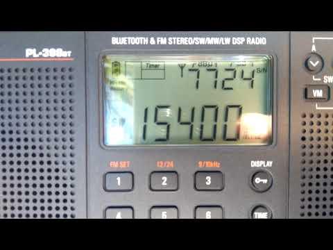 BBC WS 15400 kHz finishing broadcasting