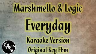 everyday lyrics marshmello logic