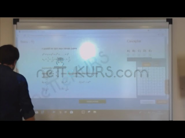ALES Sayısal - Deneme - 1 / Online ALES Kursu - nettekurs.com - Uzaktan Eğitim Dershanesi