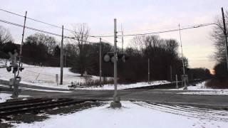 Harlem Line Roaring Brook Road Crossing
