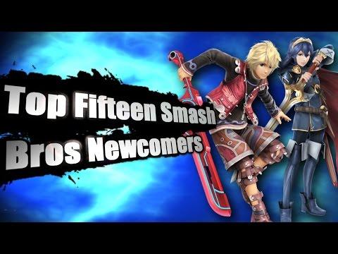 Top Fifteen Smash Bros Newcomers