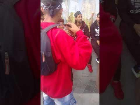 Mufaad In Mumbai Wiht underground rapper