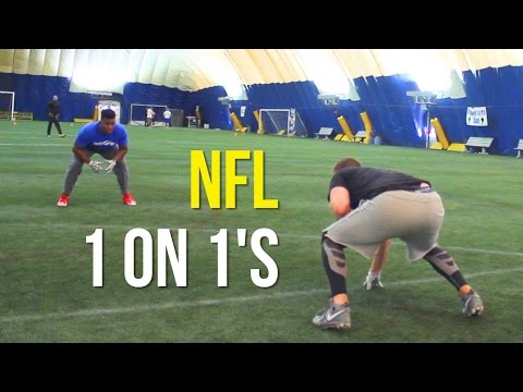 NFL Superbowl Champions | 1 on 1s vs Denver Broncos | Man Coverage | EnjoyTheGrind | Enjoy The Grind