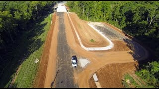 Old Madison Pike Road Construction Overflight: 13 August 15