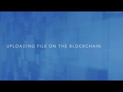 CryptoLocker Demo - File storage and sharing on blockchain