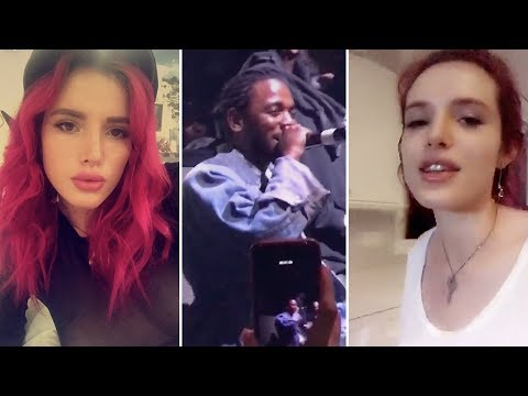 Bella Thorne | Snapchat Videos | June 24th 2017 | ft Kendrick Lamar