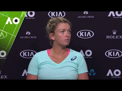 CoCo Vandeweghe press conference (SF) | Australian Open 2017