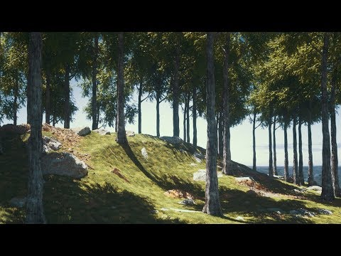 Cinema 4D Tutorial - Create Digital Nature Renders Using Octane [Part 1]