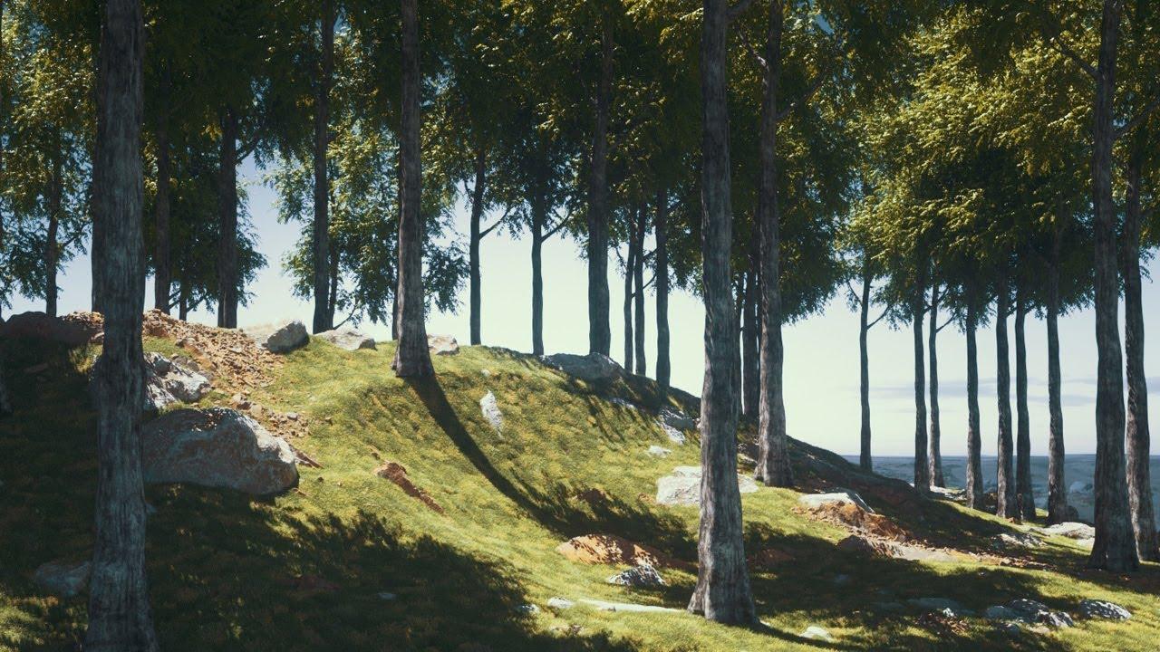Download Cinema 4D Tutorial - Create Digital Nature Renders Using Octane Render [Part 1]
