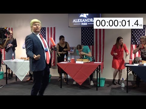 America Day Hot Dog Eating Contest
