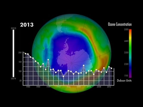 Éxito (de momento) en la recuperación de la capa de ozono de la Tierra