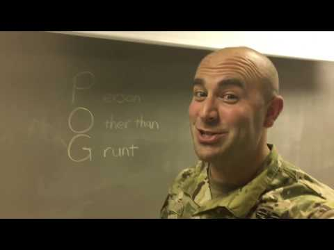 Army Word of the Day - POG