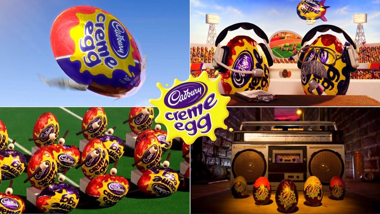 All Cadbury Creme Eggs Release The Goo Funny Commercials EVER!