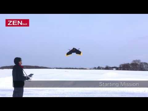 Zenbot Tailsitter VTOL Fixed-wing Drone