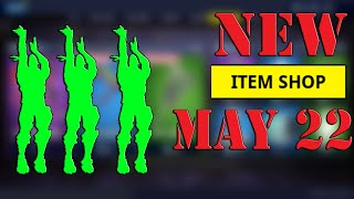 NEW Buckets Emote & Hang Time NEW Fortnite Item Shop Update May 22 - Fortnite x Jordans Bundle