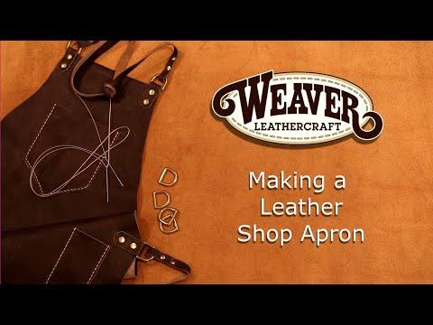 Making a Leather Shop Apron