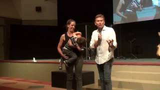 Child with rare syndrome begins to speak after prayer - John Mellor Healing Ministry