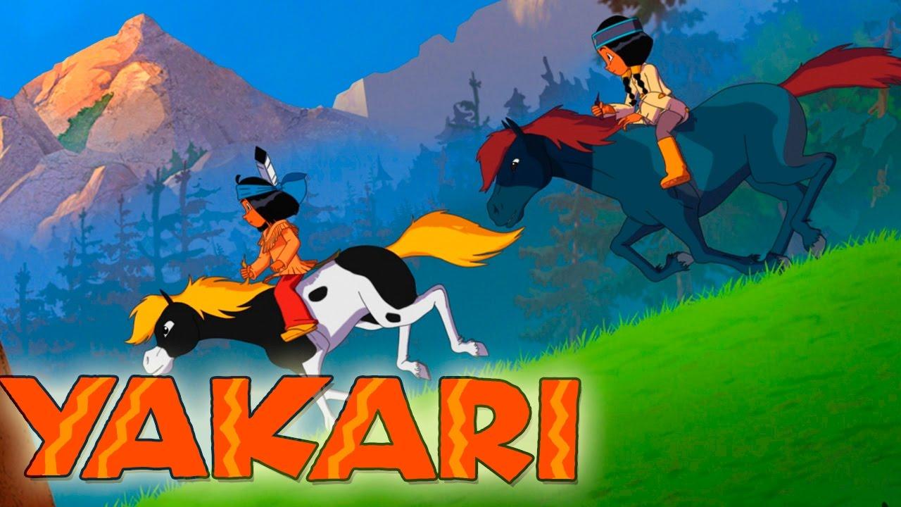 yakari  das blaue pferd  neue folge aus staffel 4  youtube