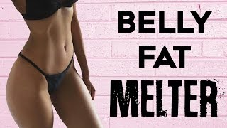 How To Lose Stubborn Belly Fat For Women | 4 Belly Fat Burning Exercises For Flat Tummy!
