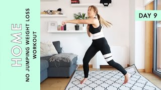 Day 9: No Jumping Weight Loss Workout - At Home (Quarantine Challenge)