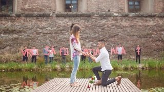 Cerere in casatorie -- Davide si Delia ( marriage proposal ) 2016