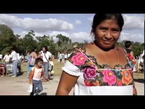 El desuso de la lengua maya