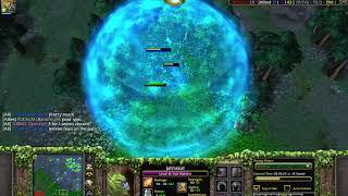 Troll Warlord vs. Faceless Void: 1v1 clash