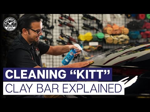 What Does A Clay Bar Do? | Knight Rider K.I.T.T. | - Chemical Guys